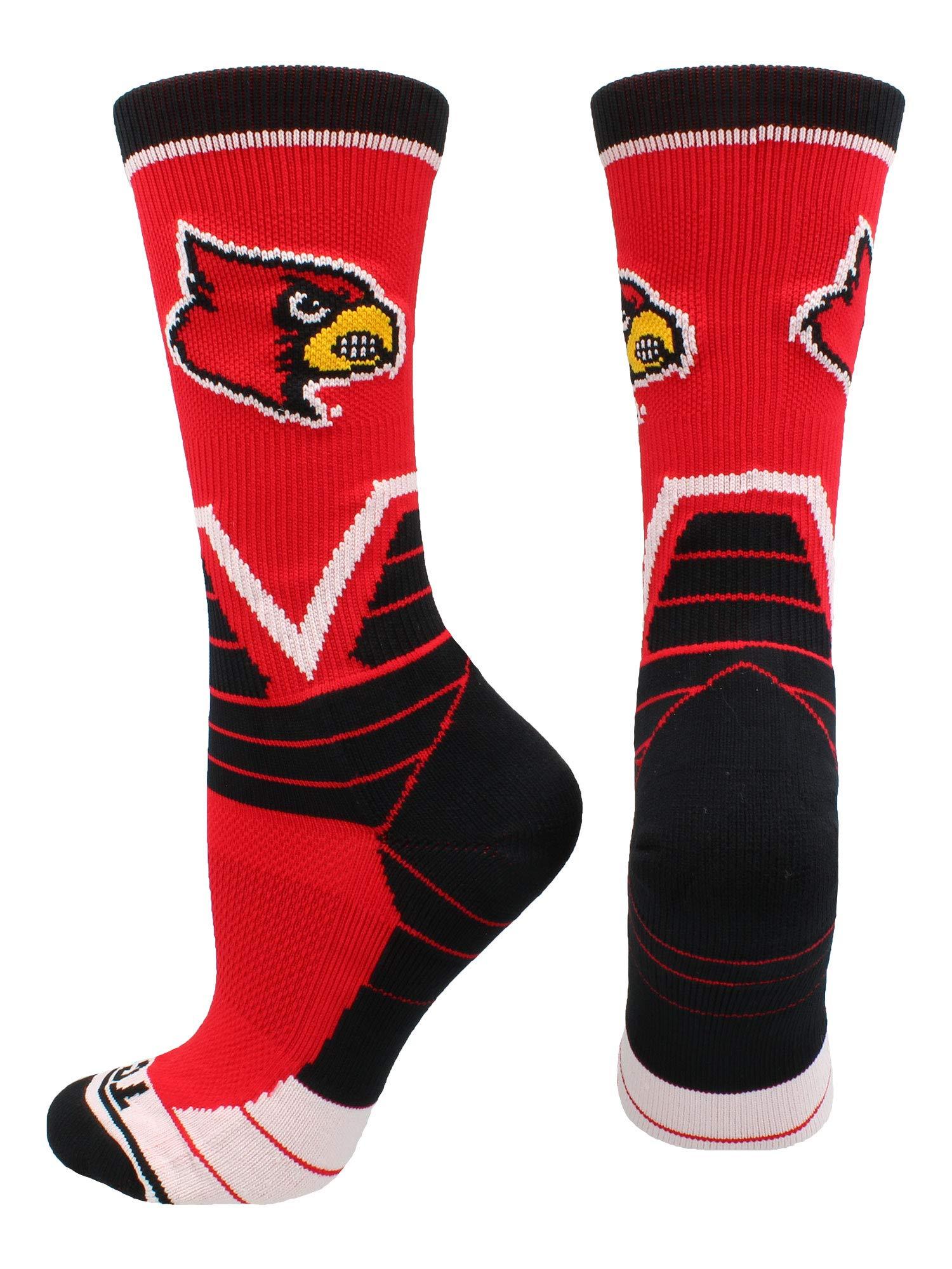 TCK Louisville Cardinals Toddler Socks Low Cut Little Fan