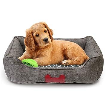 Amazon.com: Cama para mascotas Fluffy Paws, cama con forma ...