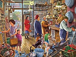 White Mountain Puzzles The Hardware Store Jigsaw Puzzle - 550 Piece Jigsaw Puzzle