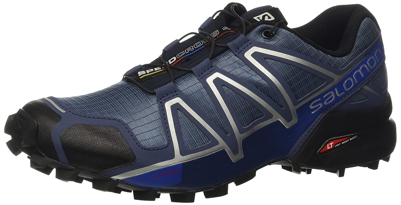 Salomon Chaussures Speedcross 4 42|noir/bleu Venta de calzado deportivo de moda en línea