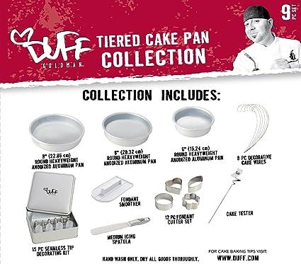 Amazon Com Duff Goldman 9 Piece Baking And Cake Decorating Set