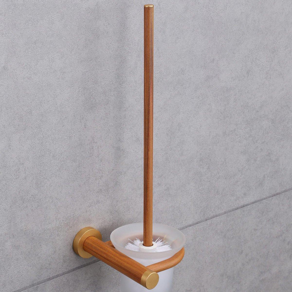 XGMSD Porte Brosse De Toilette En Bois Protection De Lenvironnement Minimaliste Costumes De Porte-gobelet Toilettes H/ôtel Ornements De Toilette Brosse De Toilette En Bois