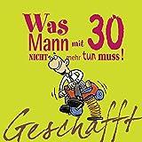 Grusskarte 30 Geburtstag Karte Humor Applikation Brause Pulver C6