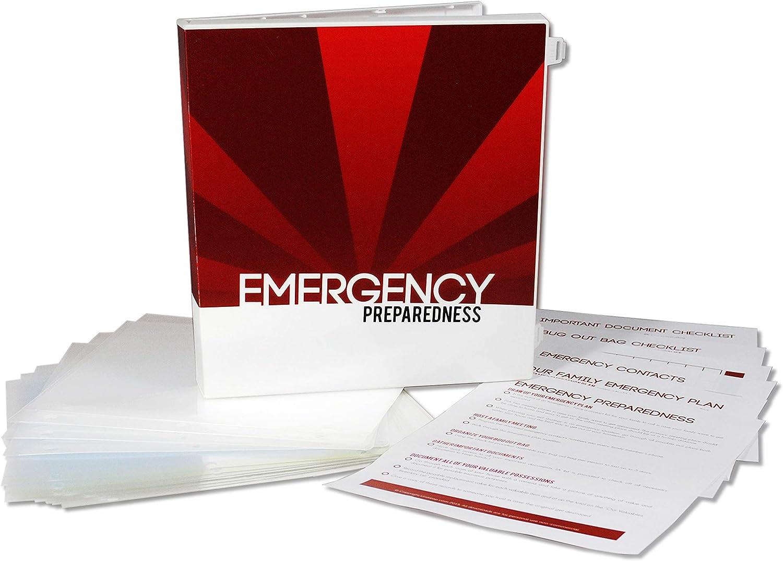 UniKeep Emergency Preparedness Binder Kit (Sunburst)
