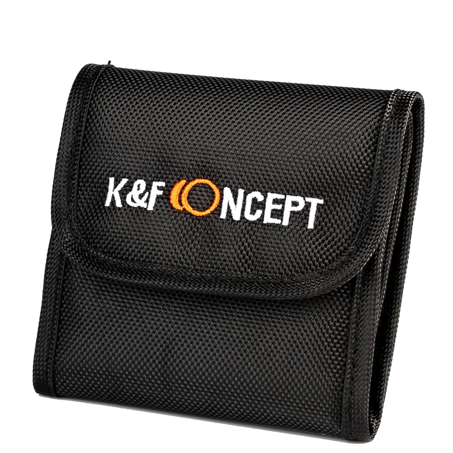 Filter Pouch K/&F Concept Lens Filter Case 3 Pocket Pouch Lens Accessory for Digital Camera Square or ND Filters