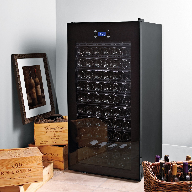 Classic 92 Bottle Single Zone Wine Refrigerator by Wine Enthusiast