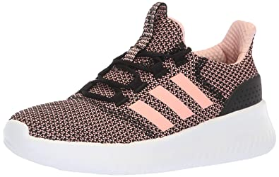 the latest 6cbd7 5eb93 adidas Womens Cloudfoam Ultimate Running Shoe, BlackClear OrangeWhite 5  ...