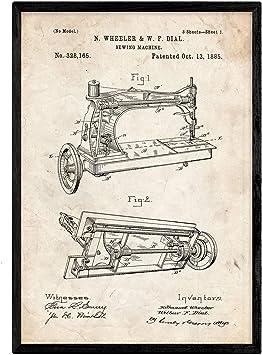 Quien invento la maquina de coser