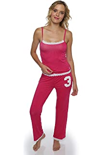 U.S. Polo Assn. Womens Short Sleeve Shirt and Long Pajama Pants ... 788cf1920