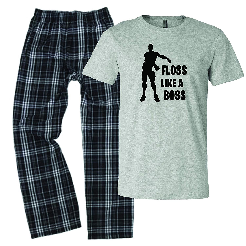 LivingTees Floss Like A Boss Pajamas for Boys