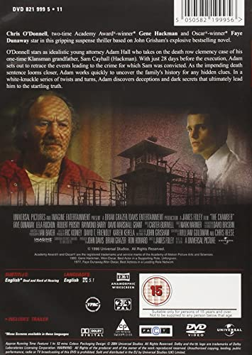 The Chamber [Reino Unido] [DVD]: Amazon.es: Chris ODonnell ...