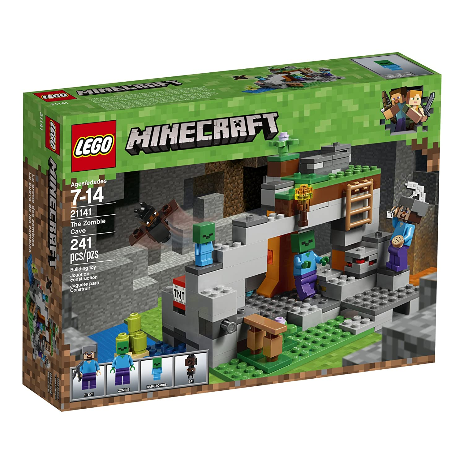 lego minecraft all sets combined 2018
