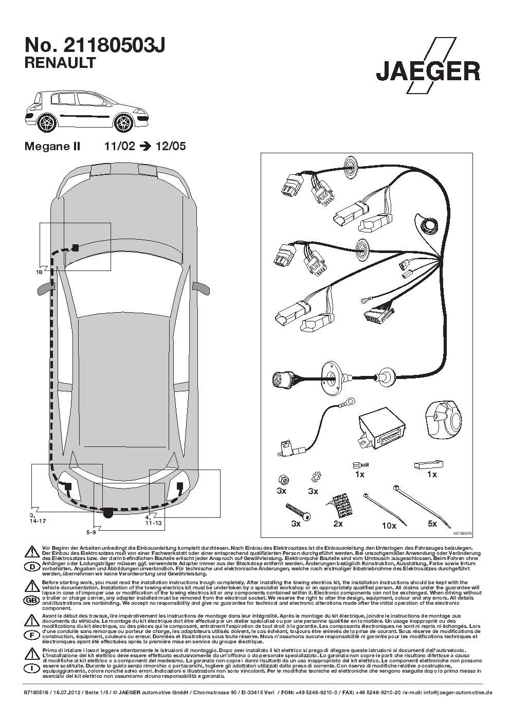 Umbra AHK Vertical Remolque Desmontable con 13P Índice Fischer S Juego de ut311 C or05zvmm/ws21180503de4: Amazon.es: Coche y moto