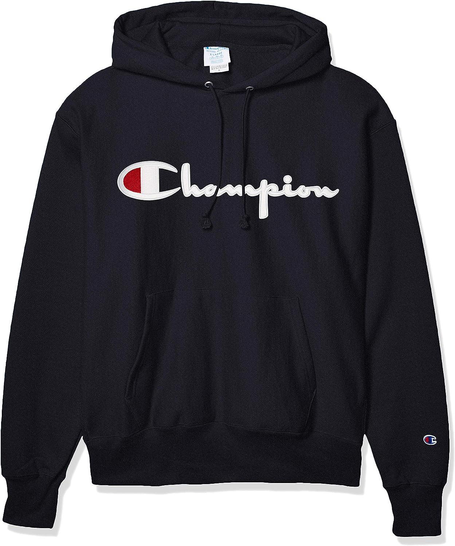 Champion Mens Reverse Weave Po Hood Hooded Sweatshirt