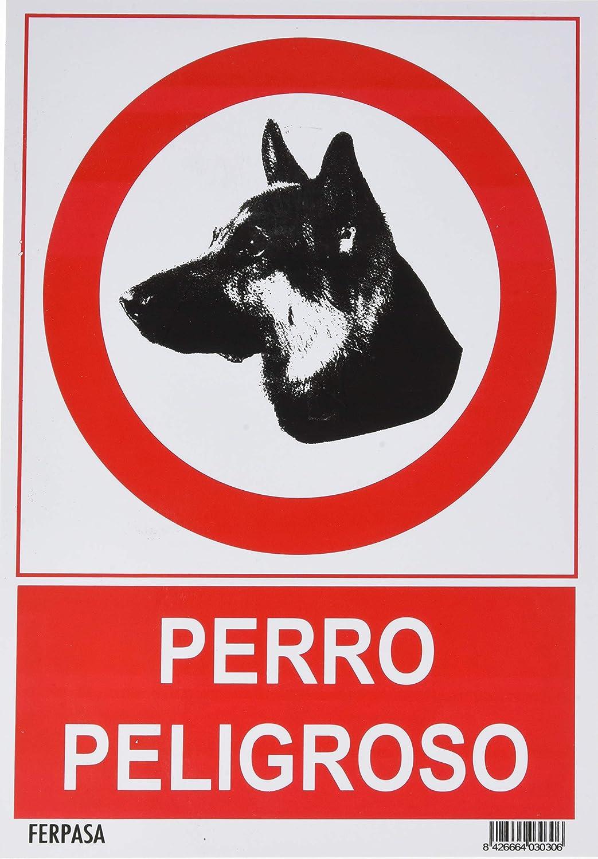 Cartel perro peligroso