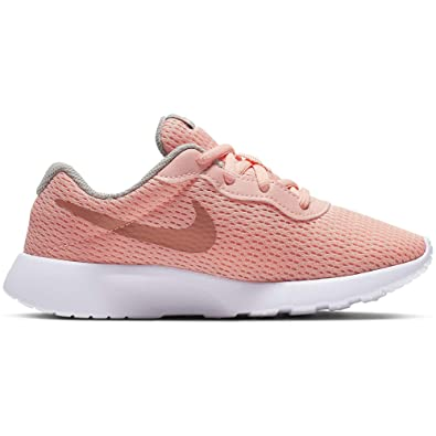 uk availability classic style reputable site Nike Girl's Tanjun Shoe Pink Tint/Metallic Rose Gold/Atmosphere Grey Size  10.5 Kids US