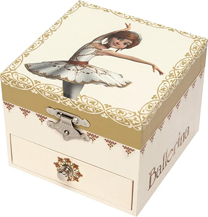 Trousselier S61111 Jewellery Box Félicie the Small Ballerina with Music Box