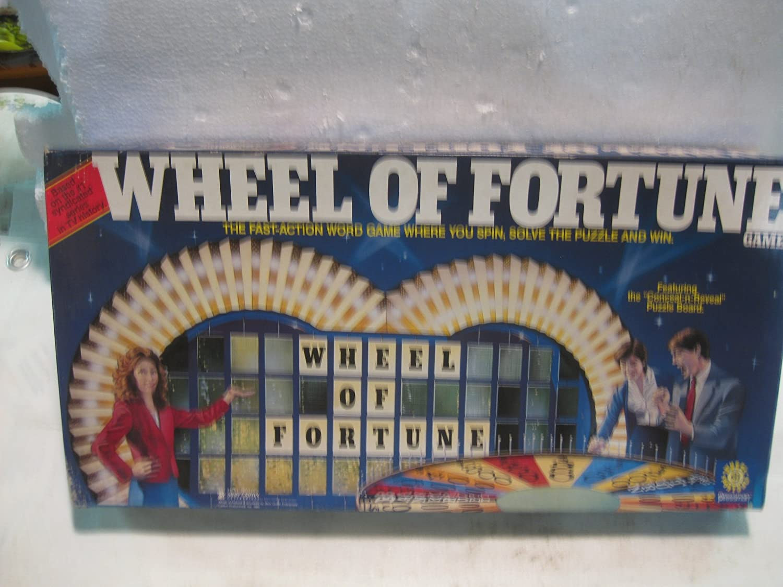 Wheel of Fortune Game 1985 by Merv Griffin Enterprises Califon Inc.