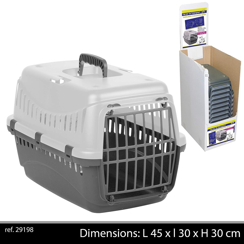 Panier de transport pour animaux, gris Fornord PetCarrier