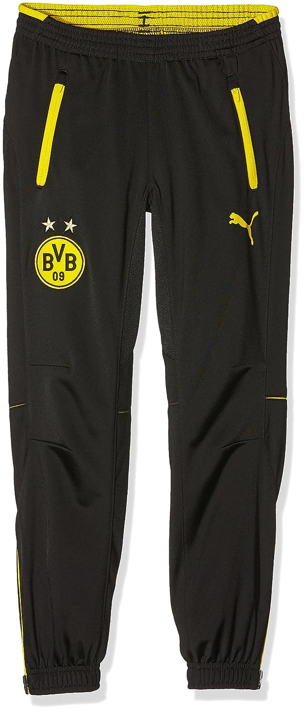 Puma Kinder Hose BVB Poly Pants with 2 Side Pockets and Zip