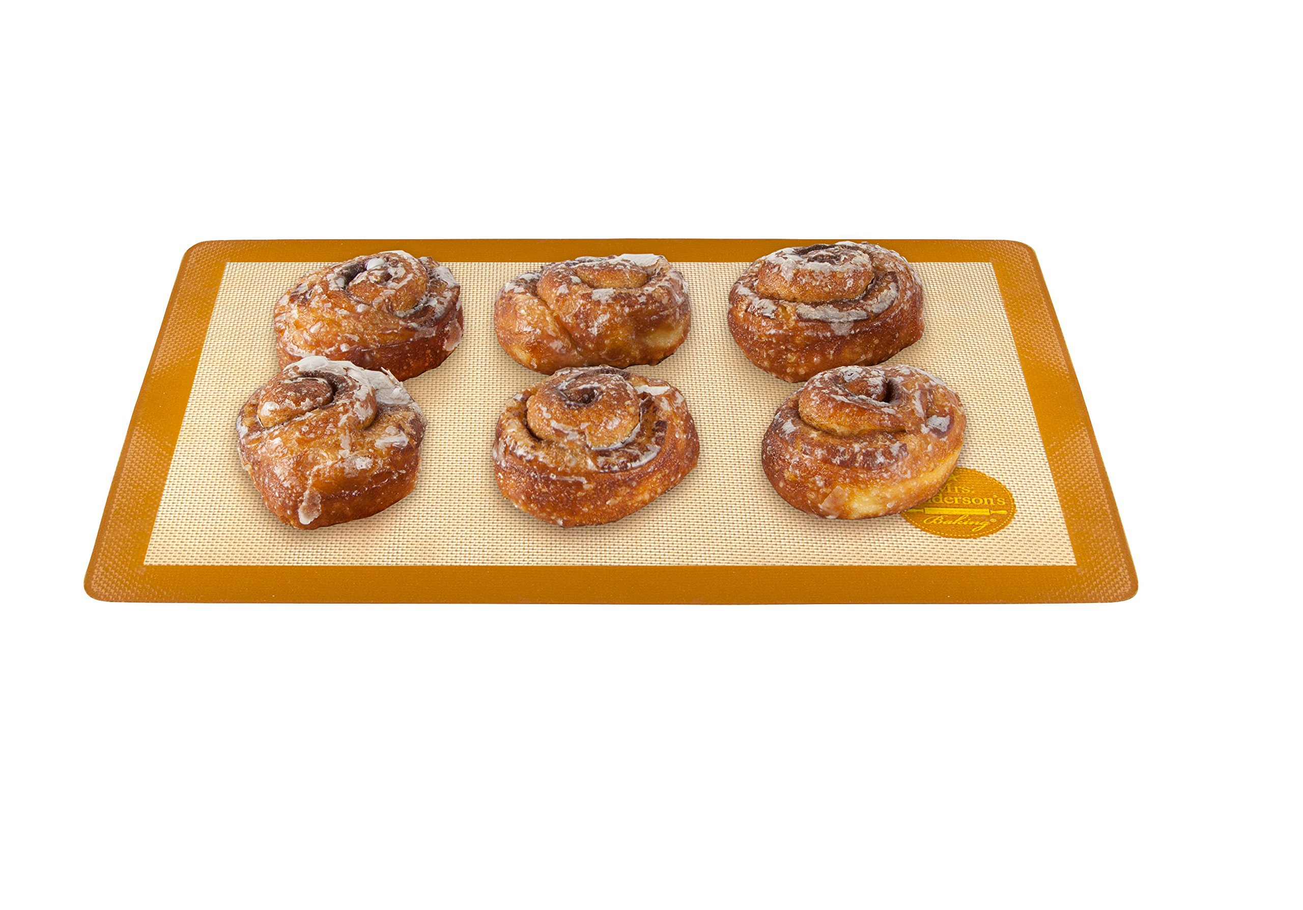 Mrs. Anderson's Baking Non-Stick Silicone Half-Size Baking Mat, 11.625-Inch x 16.5-Inch, Set of 2 by Mrs. Anderson's Baking (Image #5)