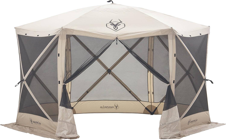 Gazelle portable screen rooms for decks