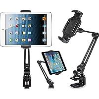 EverywhereFocus Soporte de sujeción para tablet para computadora, soporte ajustable para iPad Pro 12.9/10.5 Air Mini iPhone, Samsung Galaxy Tab, Nintendo Switch, Surface Pro, Kindle Fire (6 – 13 pulgadas)