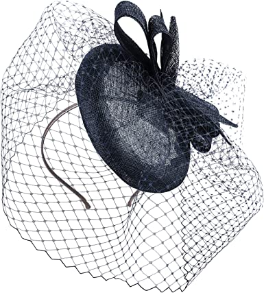 Father Net Stylish Ladies Hat Fascinator Party Prom Formal Occasions