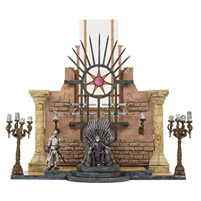 McFarlane Toys Game of Thrones Iron Throne Room Construction Set: Toys & Games