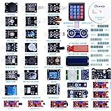 ELEGOO Actualizado 37-en-1 Kit de Módulos de Sensores con Tutorial Compatible con Arduino UNO R3 Mega 2560 Nano…