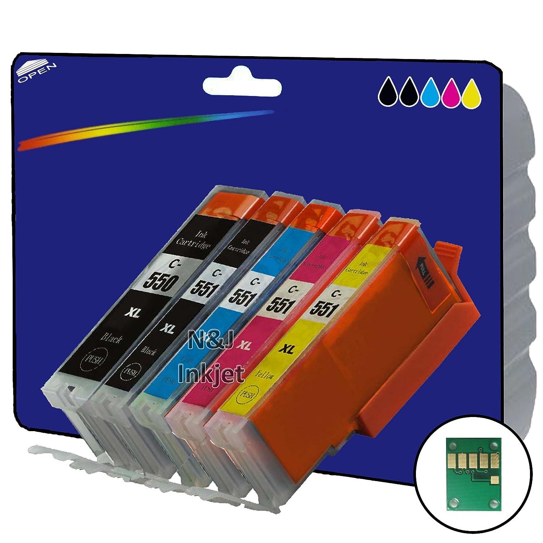 1 juego de 5 cartuchos de tinta XL no OEM Compatible para ...