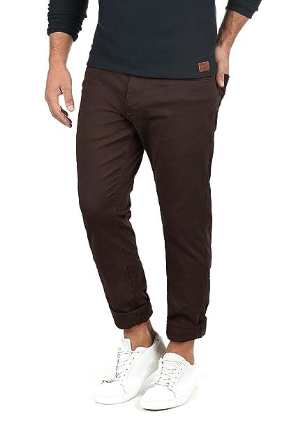 4afa15e41bfa3 Blend Saturn Pantalón Chino Pantalones De Tela para Hombre Elástico  Slim-Fit  Amazon.es  Ropa y accesorios