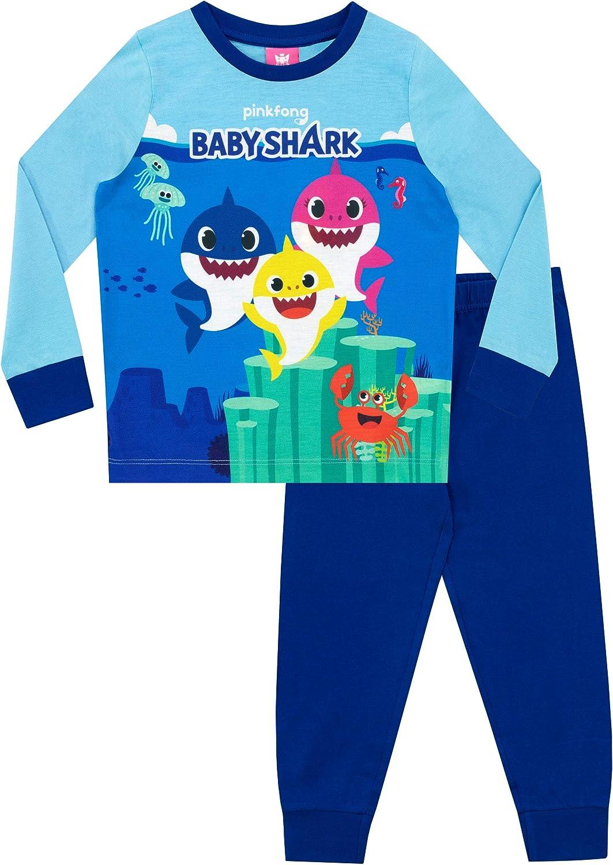 Pinkfong Boys Baby Shark Pyjamas