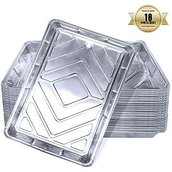 Bandejas De Aluminio Desechables Con Tapa, Bandejas De Papel ...