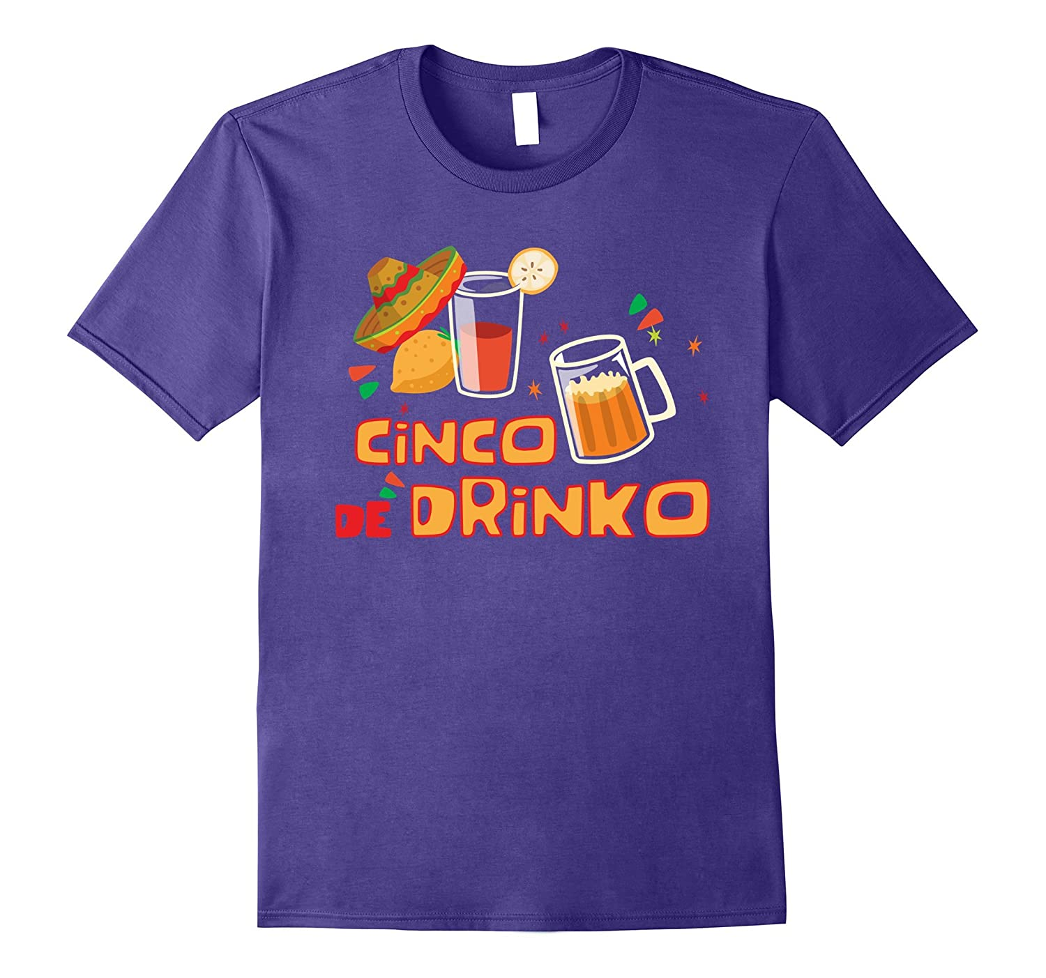 Mexican Fiesta Shirt Mexican Party Shirts Cinco De Drinko-Vaci