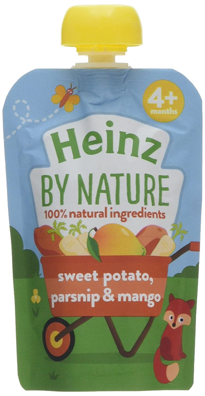Heinz Sweet Potato Parsnip and Apple Puree Pouch, 100 g (Pack of 6) The Kraft Heinz Company 76011059