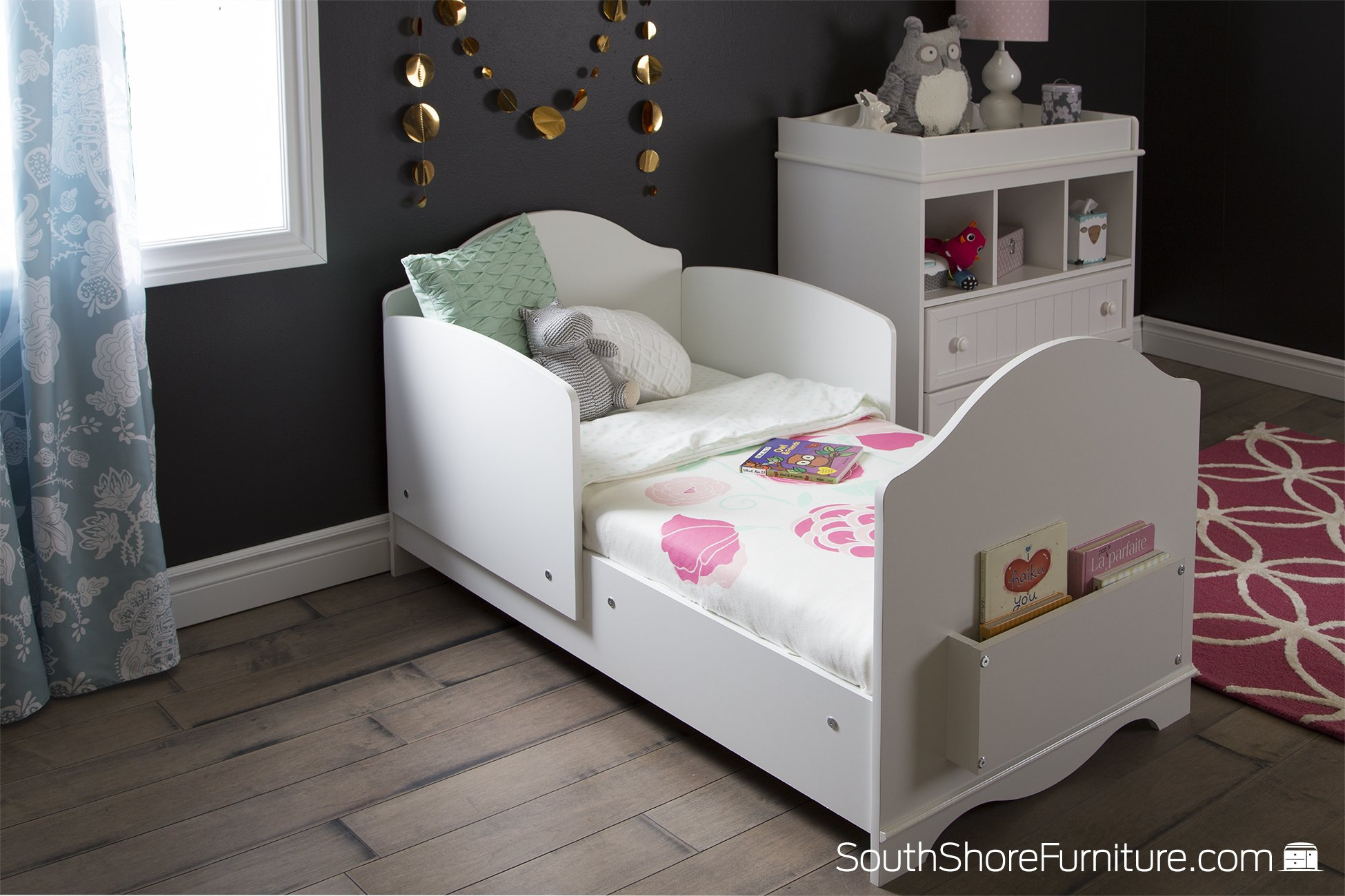 South Shore  Savannah 2-Drawer Changing Table, Pure White by South Shore (Image #5)
