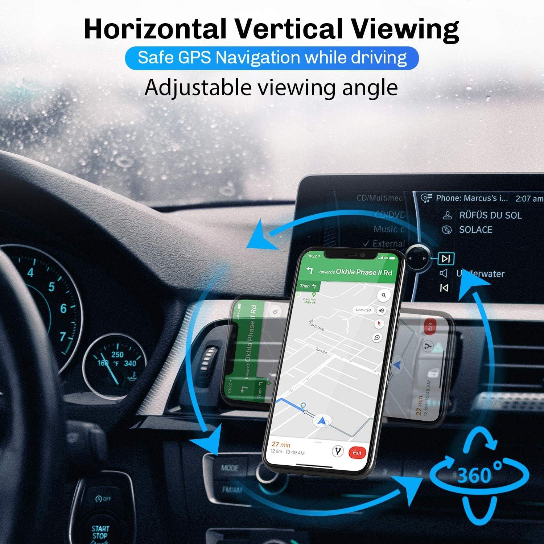 Modohe Handyhalterung Auto Magnet L Typ 360 Drehung Elektronik