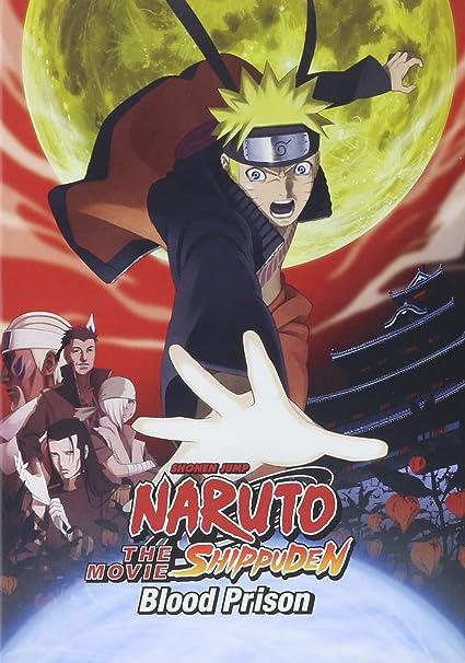 Naruto Shippuden the Movie: Blood Prison Reino Unido DVD ...