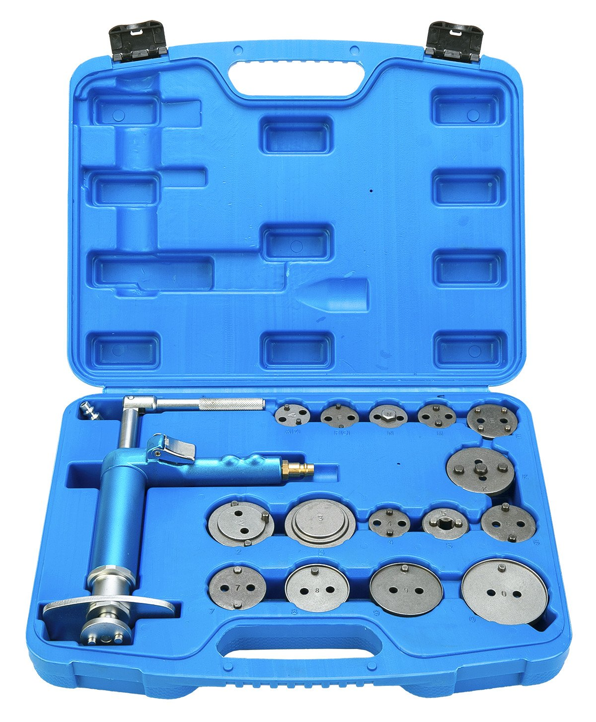 FreeTec 16pcs Pneumatic Disc Brake Caliper Piston Air Brake Caliper Piston Compressor Master Tool Kit freebirdtrading