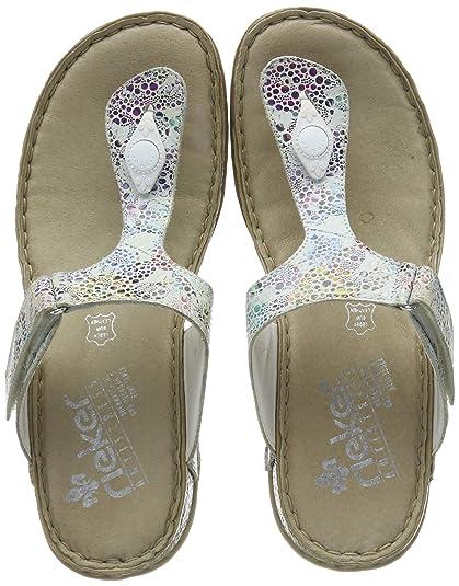quality design 6cf5b 75970 Rieker Women's 61165-92 Flip Flops: Amazon.co.uk: Shoes & Bags