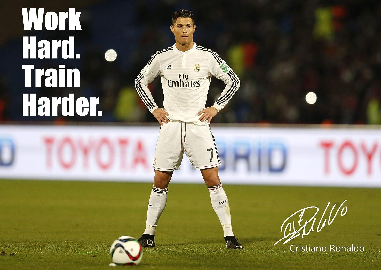 Cristiano Ronaldo #38 - de motivación con imagen firmada por ...
