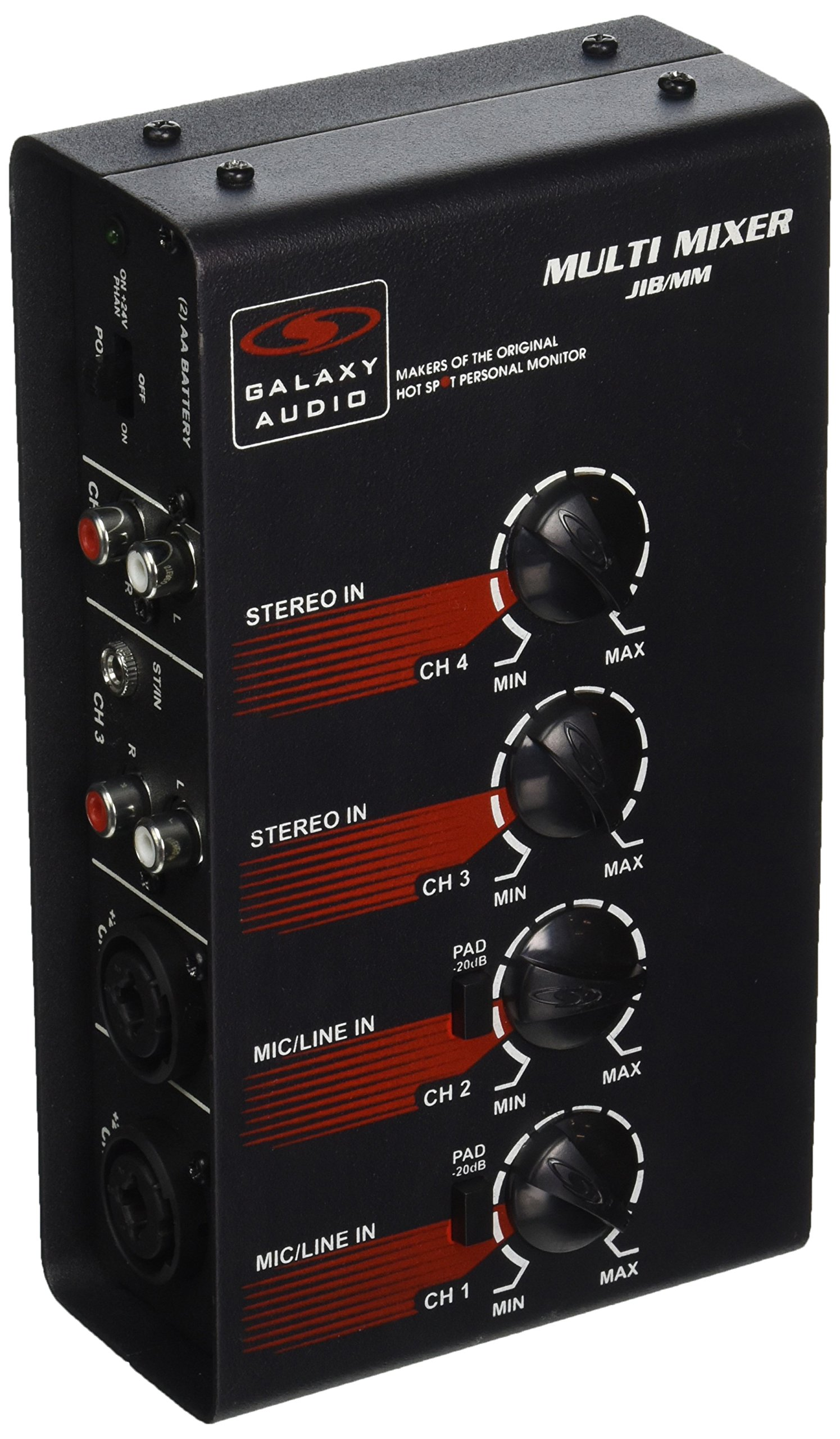 Galaxy Audio JIBMM 4 Channel Battery Operated