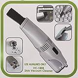 Mini Desktop Vacuum Cleaner - White(Use alkalines only)