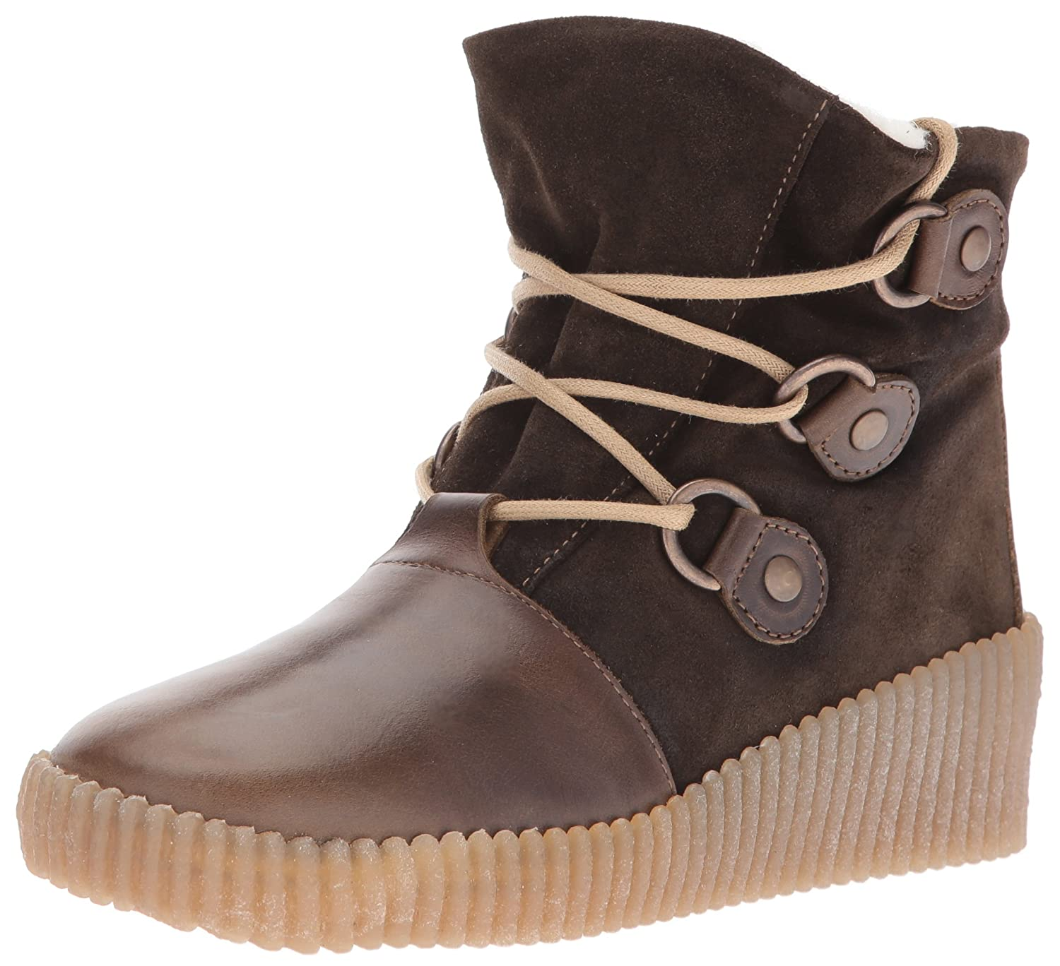 FLY London Women's Abat251fly Snow Boot B01DBXDYY6 40 EU/9-9.5 M US|Olive/Sludge Rug/Oil Suede