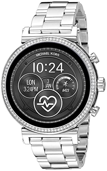 Michael Kors Access Sofie Heart Rate Smartwatch- Powered with Wear OS by Google with Heart Rate, GPS, NFC, and Smartphone Notifications