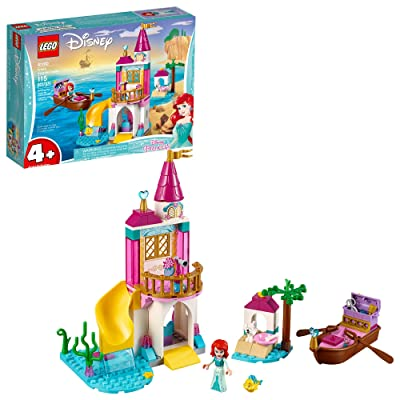 LEGO Disney Ariel's Seaside Castle 41160 4+ Building Kit (115 Pieces): Toys & Games