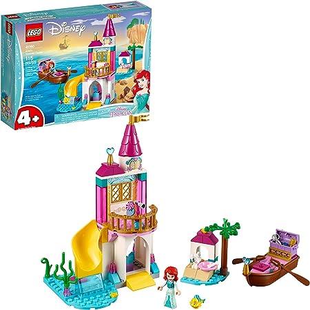 LEGO Disney Ariel's Seaside Castle 41160 4+ Building Kit, 2019 (115 Pieces)