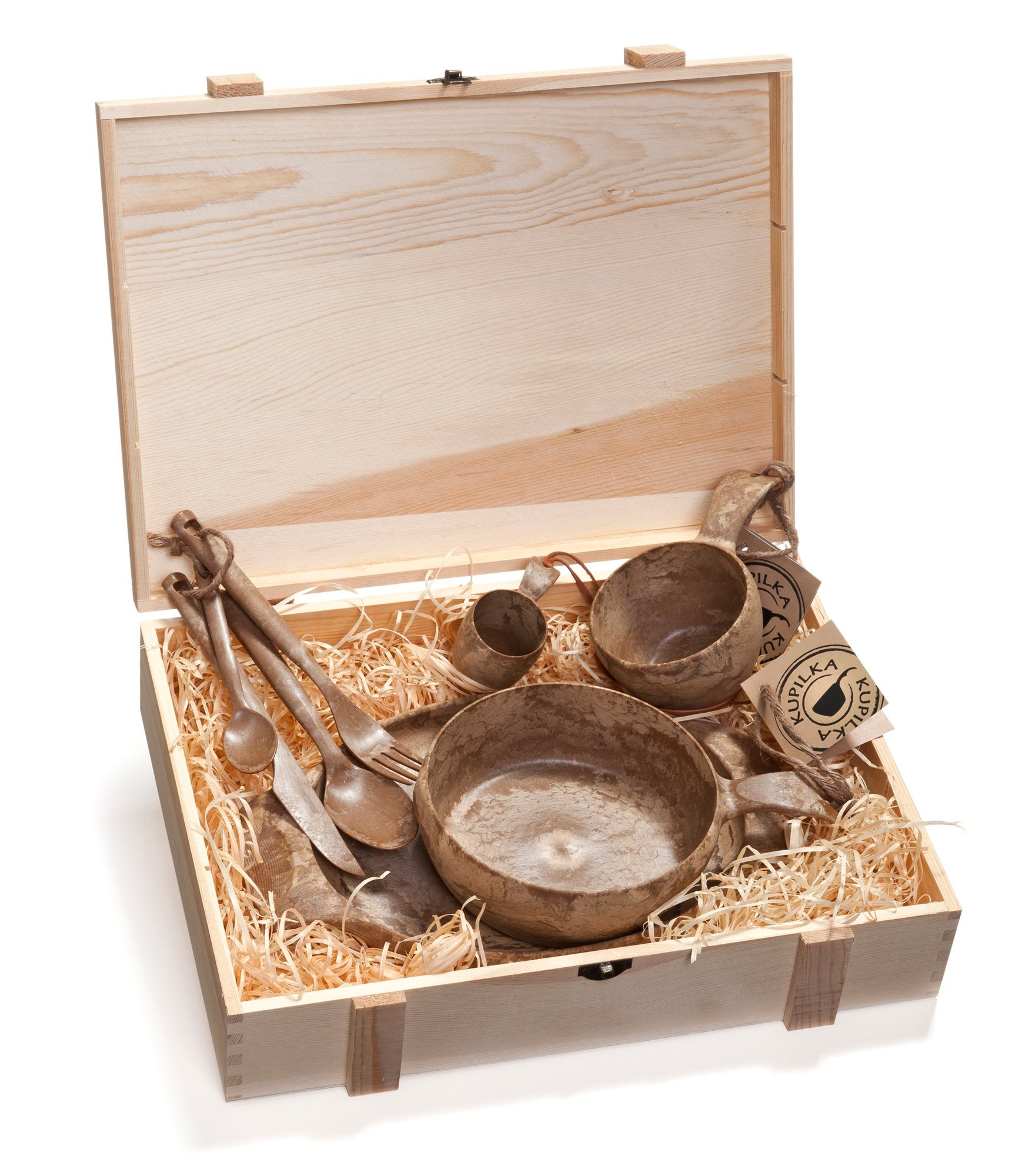 Kupilka Wood Box with all Items