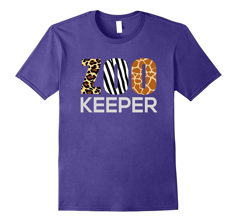 Zoo Keeper Safari T-Shirt Fun Gift For Animal Jungle Lover-FL
